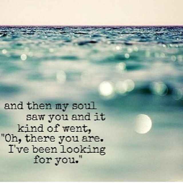 There you are true love quote