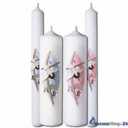 Taufkerzen incl. Kerzenbeschriftung