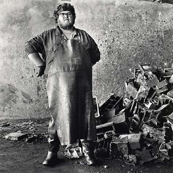Tom Caldwell, Labourer, Re-Cycling Plant, 1982