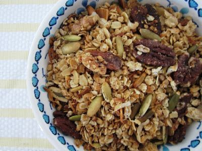 Life on Food: Maple Pecan Granola | Recipes ~ Breakfast | Pinterest