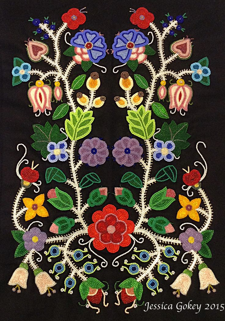 31 best images about beading ojibwe native american on for Native design