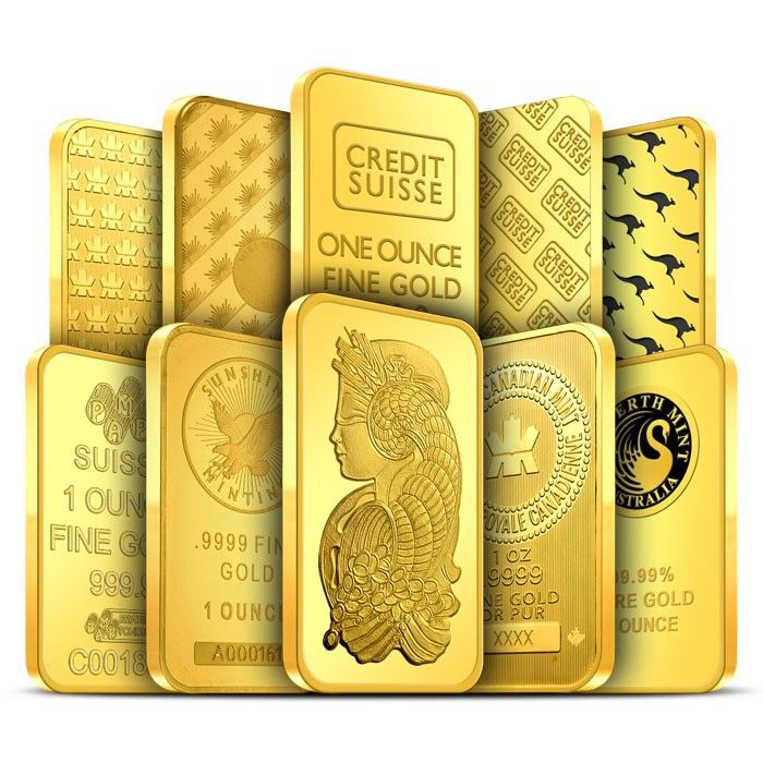 1 Oz Gold Bar Our Choice Random Gold Ounce Buy Gold And Silver Gold Bullion Bars