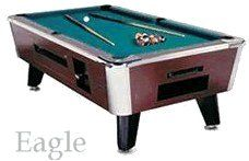 Coin Operated Pool Table by Great American