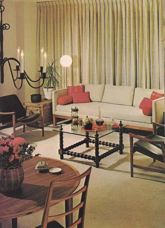 1970s Home Decorating, How to Make a Floor Plan