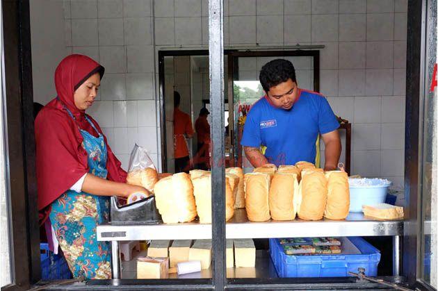 Amanah Bakery di Agrowisata Amanah