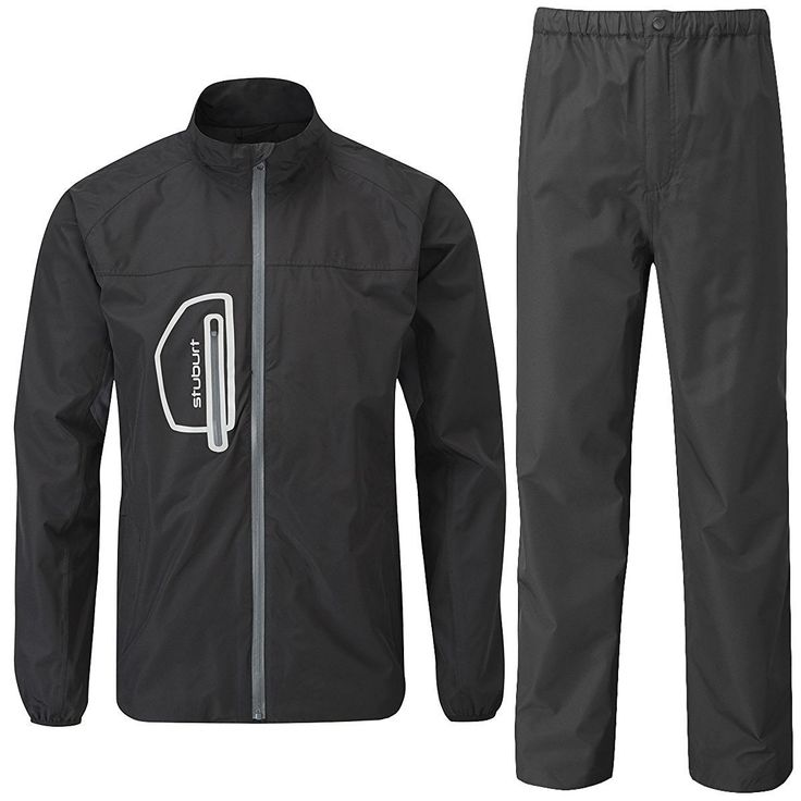 This stunning lightweight mens urban essentials storm-fit golf rain suit by Stuburt offers the perfect combination of being ultra light and ultra comfortable!