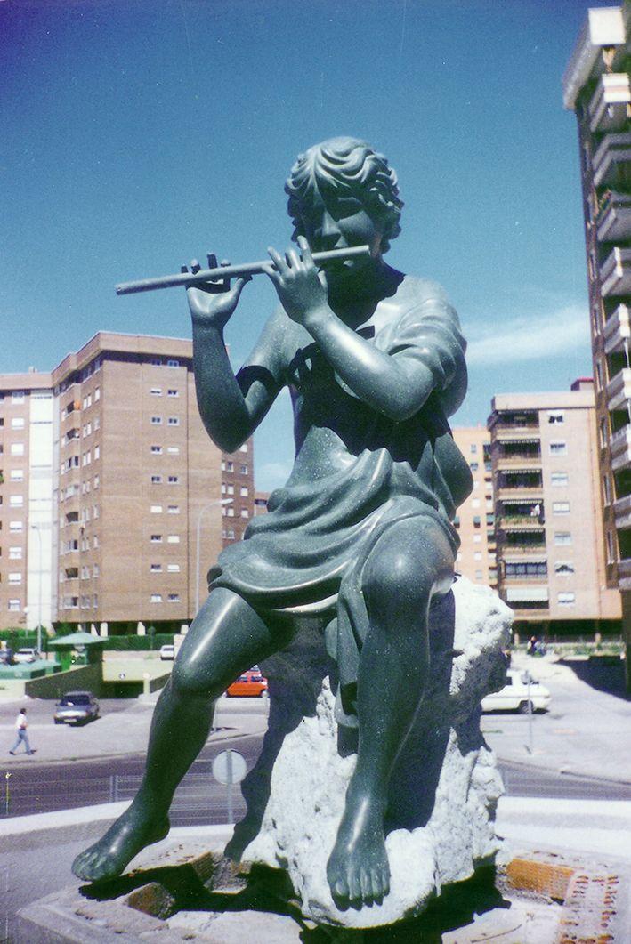 El pastor del agua. Avda. Juan Carlos I. Leganés (Madrid)