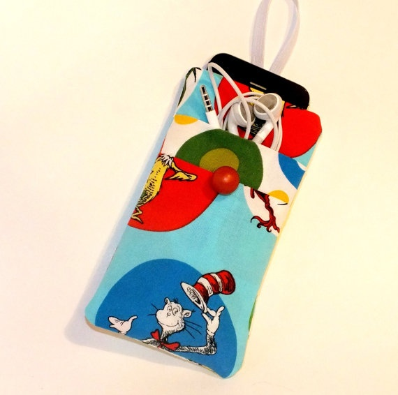 Cat in the Hat iPhone 5 Cover iPhone 4 by VintageFabricFinds, $16.00