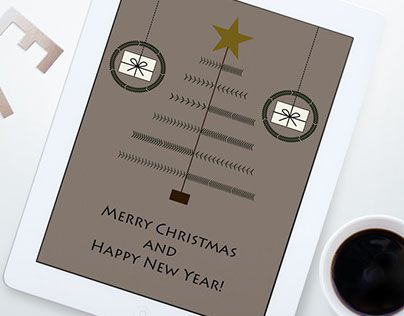 """Check out new work on my @Behance portfolio: """"Xmas Card"""" http://be.net/gallery/32750501/Xmas-Card"""