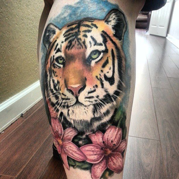 40 Best Small Tiger Tattoos Images On Pinterest