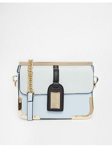River Island Blue Luggage Tag X Body - Blue http://sellektor.com/all?q=river+island