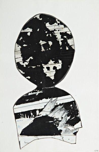 Janoušková Věra (1922-2010)   Hlava, 1996   Aukce obrazů, starožitností   Aukční dům Sýpka