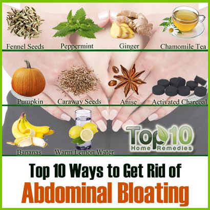 Top 10 ways ( NATURAL :) to get rid of Bloating
