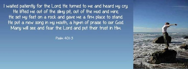 Psalm 40:1-3