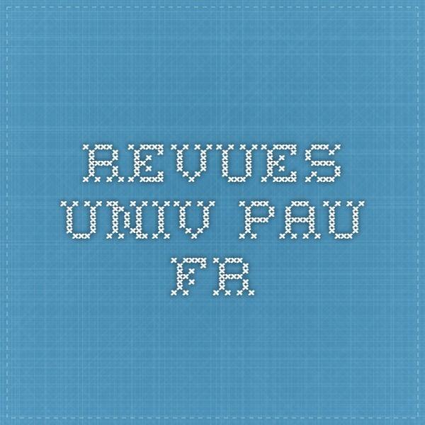 revues.univ-pau.fr