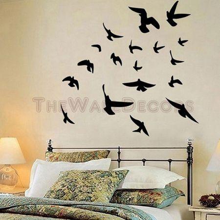 pretty design bird home decor. Flying Birds wall decals 66 best interior design images on Pinterest  Murals Wall