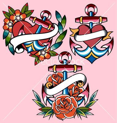 I pick the bottom anchor minus the greenery, change the roses to skulls, add USN, and add the rope under the ribbon