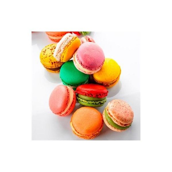 Where to buy macaroons in London ❤ liked on Polyvore featuring macaroon and food