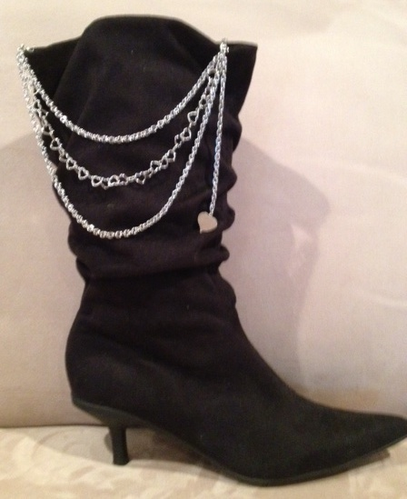 New boot jewelry that can also attach to other items such as pants and bikini's: Bikinis, Ideaman Steve