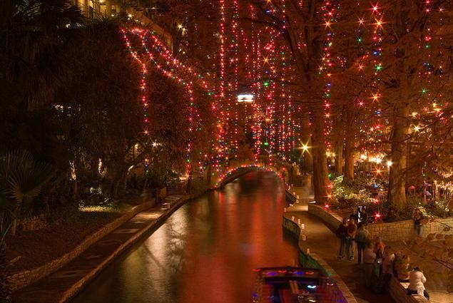If it's the holiday season, that means the  San Antonio Riverwalk must be beaming with its 1.8 million Christmas lights. Visitors can stroll among more than 200 sparkling trees, walk over 20 bridges all aglow, and listen to carolers singing from barges on the water. Though the Christmas carols end after Dec. 21, the rest of the pageantry lasts through Jan. 1.