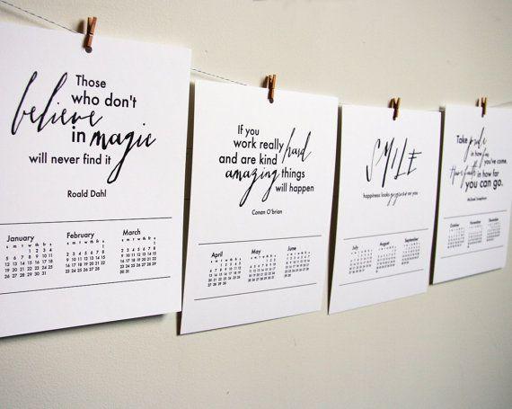 Calendar Design Quote : Best calendars planners images on pinterest