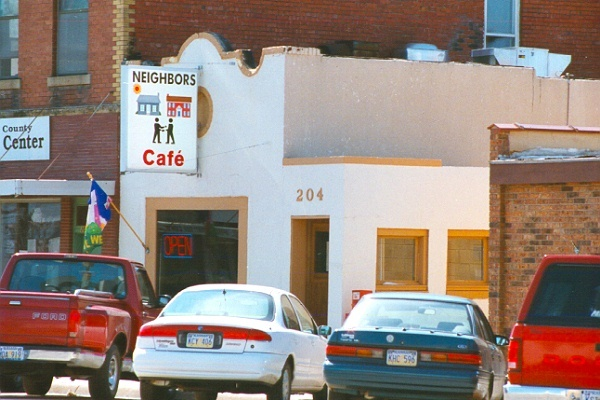 Neighbor's Cafe, McPherson, Kansas -every Wednesday morning with Dave.