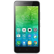 Lenovo C2 smarttelefon (sort)