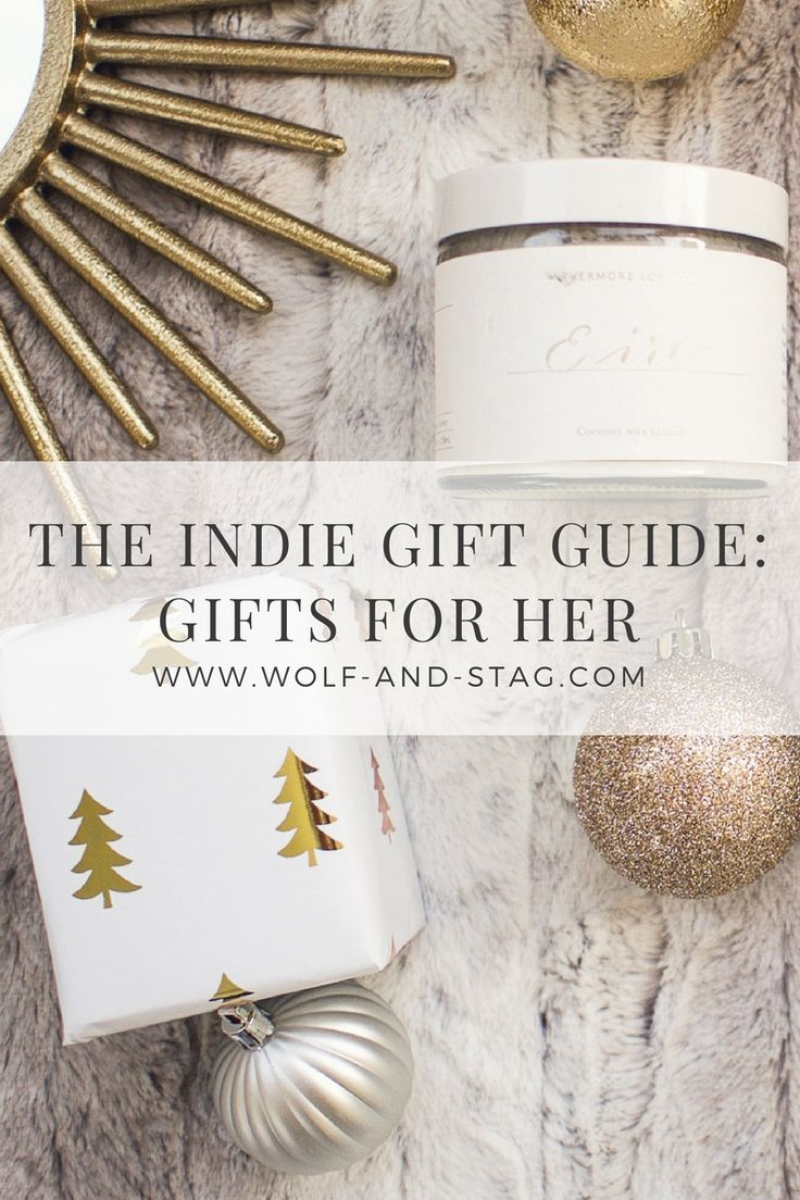 Gift Guide for Her -- Featuring the best of independent designers, makers and shops from both San Francisco and London | Beauty, fashion and interiors gifts for her | Wolf & Stag
