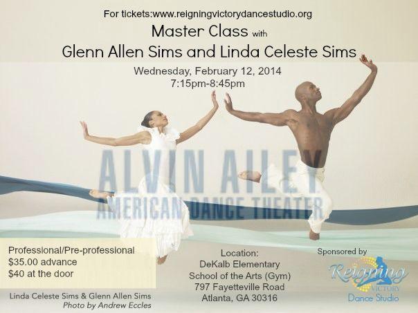 Alvin Ailey Master Class