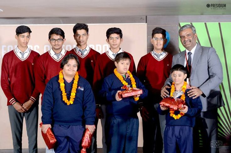 When Sparsh students came visiting with a grateful 'thanks' in their hearts for the generous contribution made by Presidians, they were welcomed with warmth and love, at Presidium. Sparsh students were truly thankful for the contribution made and they conveyed their appreciation to Presidians who were sincerely humbled by the gesture.