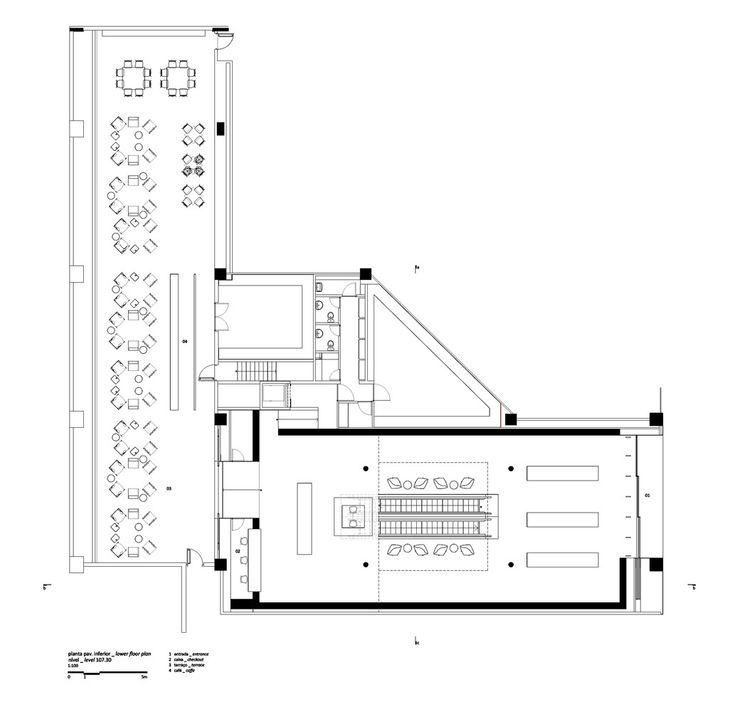 Galeria de livraria cultura studio mk27 marcio kogan for Marcio kogan plans