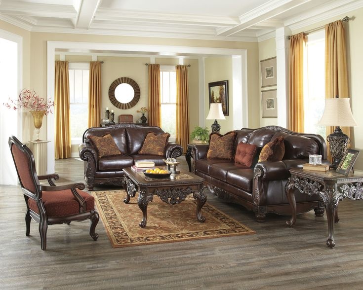 Signature Design by Ashley North Shore Plus   Coffee Traditional Loveseat  in Brown Leather Match   Becker Furniture World   Love Seat Twin Cities   228 best Sala images on Pinterest   Living room ideas  Living room  . Living Room Sets In Ct. Home Design Ideas