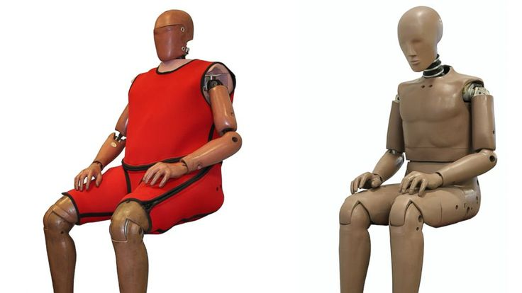 Crash Test Dummies Gain Weight to Save Lives http://abcnews.go.com/Health/fatter-crash-test-dummies-prevent-road-deaths/story?id=26545335 Obese people are 78 percent more likely to die in a car crash.