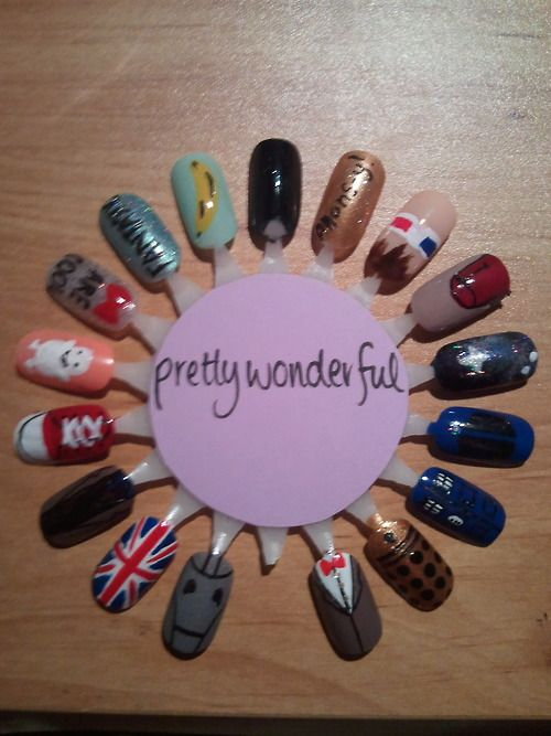 doctor who nails | Tumblr... Oh yes, this will happen of me some day!