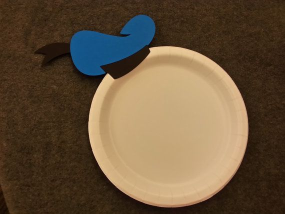 Donald Duck Birthday Party Cake Plates set of by MagicalFantasia2, $8.00