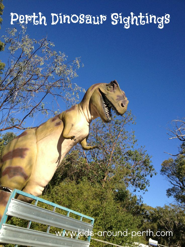 Find a full list of Dinosaur Sightings in Perth  WA! Where are you going on your next Dinosaur adventure?