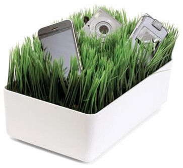 Grass Charging Station White
