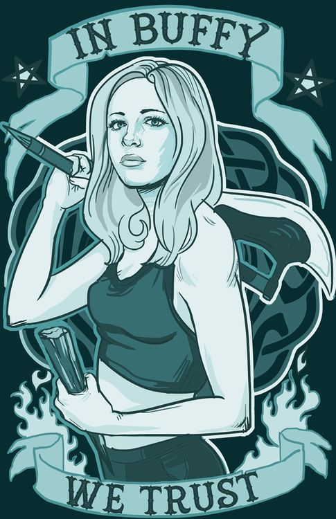 buffy, the vampire slayer >> would make for a great tattoo?