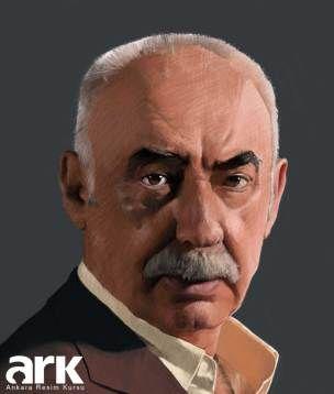 Şener Şen (Kabadayı) - Dijital Boyama
