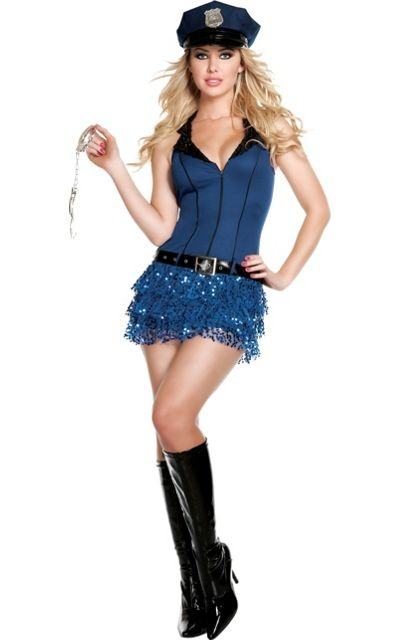 Officer Hottie Police Costume for Adults - Party City