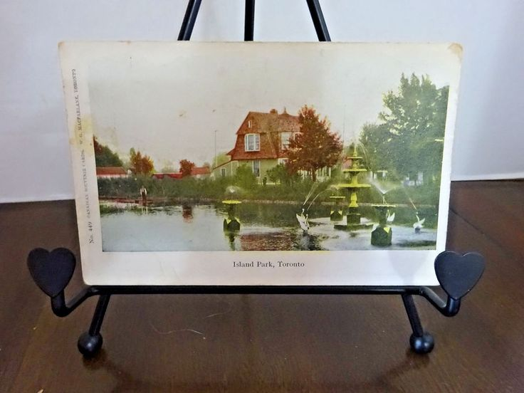 Island Park, Toronto,Ontario,  Vintage early 1900's Post Card