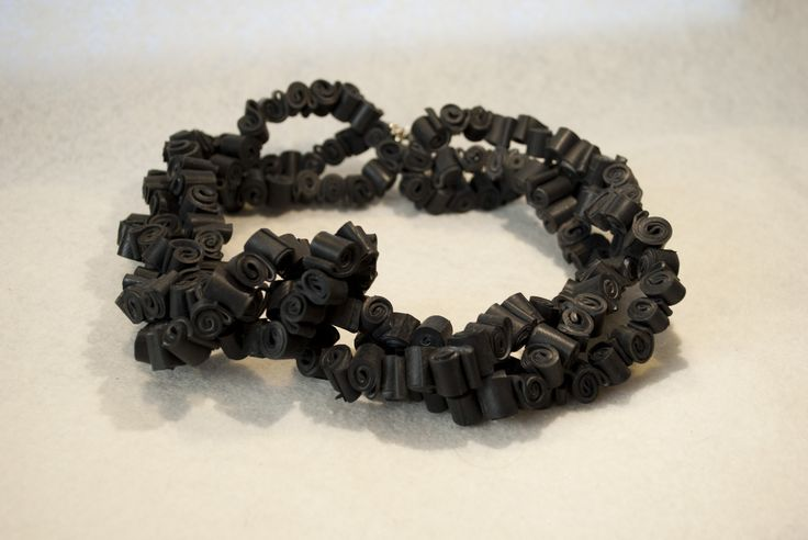 Inner tube necklace/ Tutto sommato