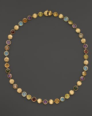 """Marco Bicego Jaipur Multicolored Necklace, 18"""" 