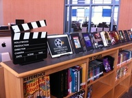 Amazing middle school library blog!