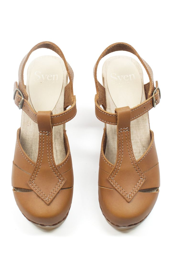 Diamond Strap Clogs by Sven - the trustiest shoes around.