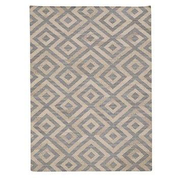 Ręcznie tkany dywan Luisa Blue/Natural, 155x240 cm   Bonami