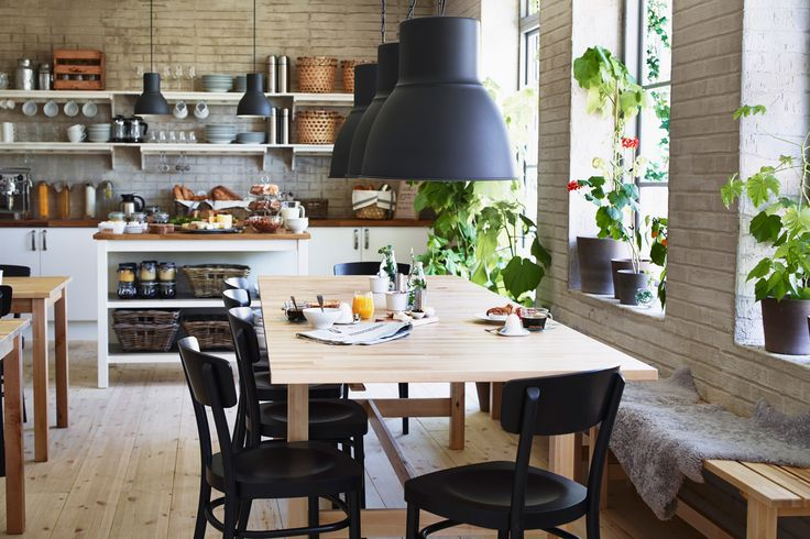 Eat and relax in an inspirational space.
