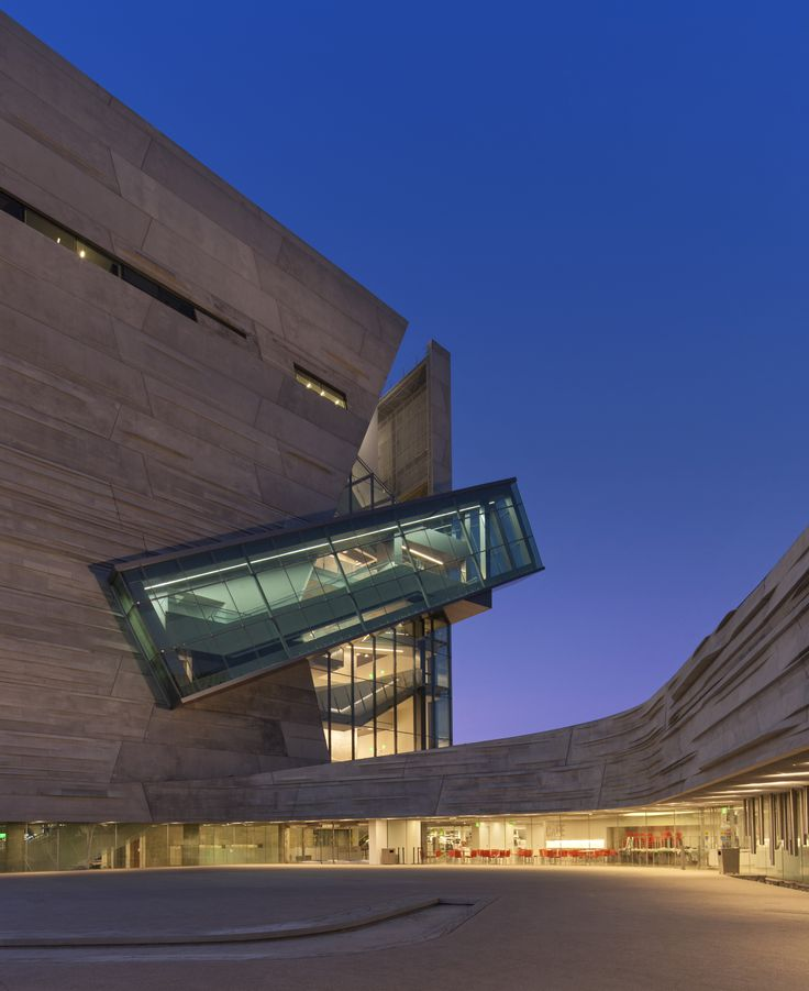 The Dallas Perot Museum of Science and Nature by Thom Mayne