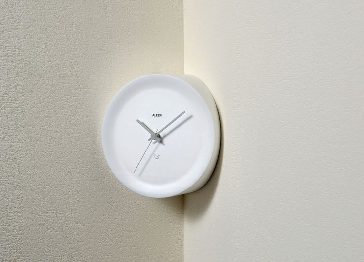 """ACCESSORIES: Wall clocks: Ora In & Ora Out by Alessi the """"edgy"""" clock  #designbest #design #homedecor   @alessiofficial"""
