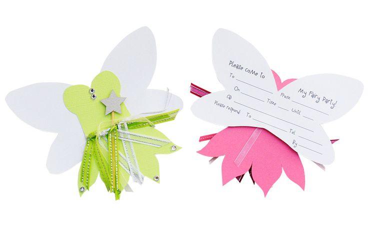 Lilly K Fairy Invites